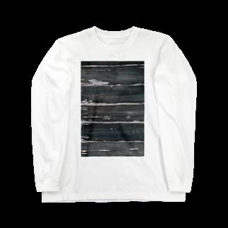 7_の木目調 Long sleeve T-shirts