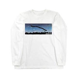 銀鉄/ゴブリン Long sleeve T-shirts