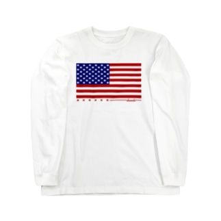 dacci 星条旗(カラー) Long sleeve T-shirts
