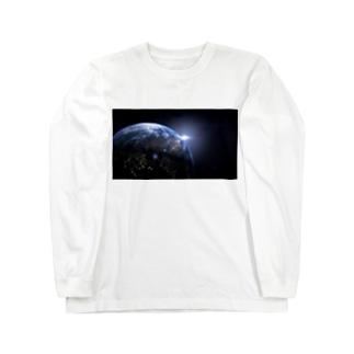 地球 Long sleeve T-shirts