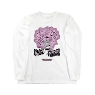 """MAGI COURIER"" pink #1 Long Sleeve T-Shirt"