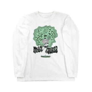 """MAGI COURIER"" green #1 Long Sleeve T-Shirt"