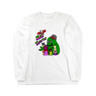 Sea Monster Long sleeve T-shirts