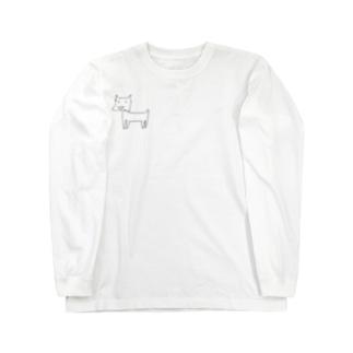 健気なdog Long sleeve T-shirts