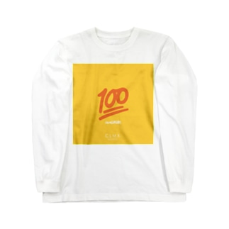 """""""100"""" WEAR from Next Level(s) Long sleeve T-shirts"""