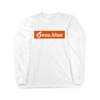 anzu ロゴ(URL) tyle2 Long sleeve T-shirts