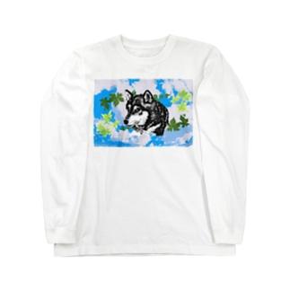 黑柴 Long Sleeve T-Shirt