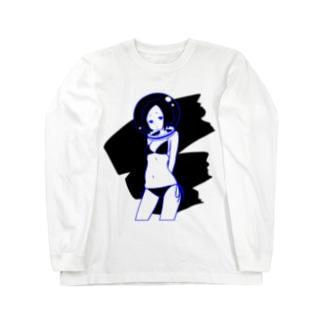 タッチアップワーク Long sleeve T-shirts