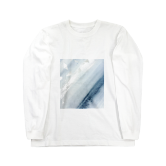 LUCENT LIFEのSumi - Silver leaf Long sleeve T-shirts