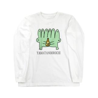 やまたのおろち Long sleeve T-shirts