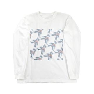 テディベア好きのためのSAME Long sleeve T-shirts