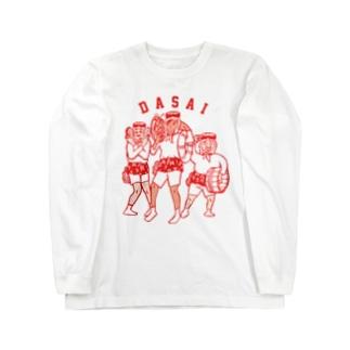 AMATHAN(赤) Long sleeve T-shirts