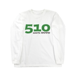 100%510 Long sleeve T-shirts