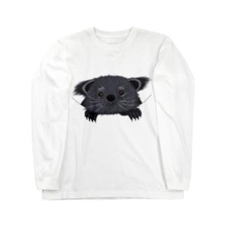 ビントロングぅー Long sleeve T-shirts