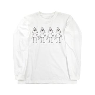 =メイソン4ニングミ= Long sleeve T-shirts