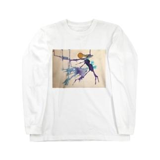 月の日 Long sleeve T-shirts