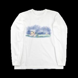 margarinkoのムーンライト Long sleeve T-shirts