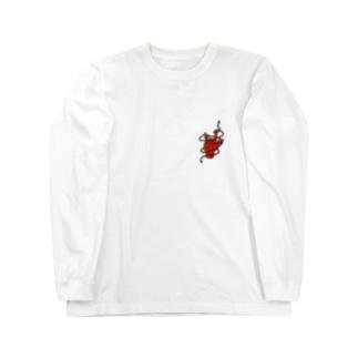 数珠ロック Long sleeve T-shirts