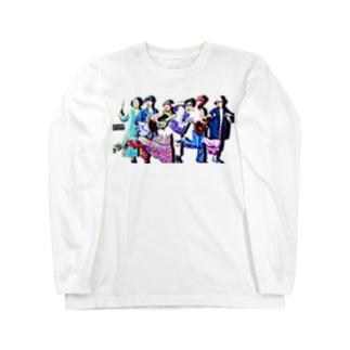 ちょっ。Tシャツ 全員集合 Long sleeve T-shirts