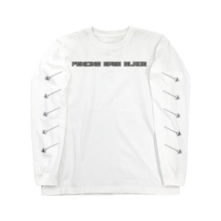 FENCING EPEE BLADE GLAY Long sleeve T-shirts