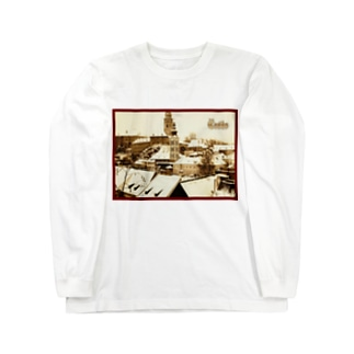 チェコ:チェスキー・クルムロフ城 Czech: Krumlov Castle Long sleeve T-shirts