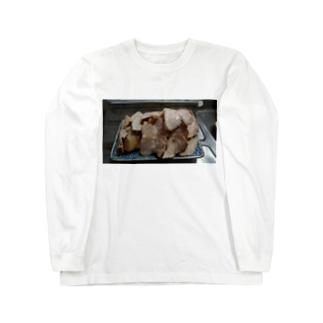 チャーシュー Long sleeve T-shirts