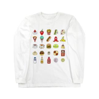 フード&ドリンク/25モンスターズ Long Sleeve T-Shirt