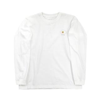 にっこり目玉焼き Long sleeve T-shirts
