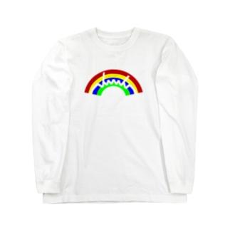 dacci 虹 Long sleeve T-shirts