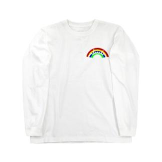 dacci 虹(胸ワンポイント) Long sleeve T-shirts