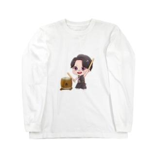 太鼓あっきー Long sleeve T-shirts