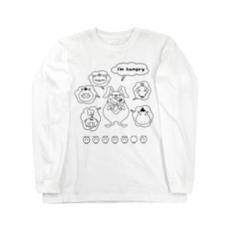 ハングリー Long sleeve T-shirts