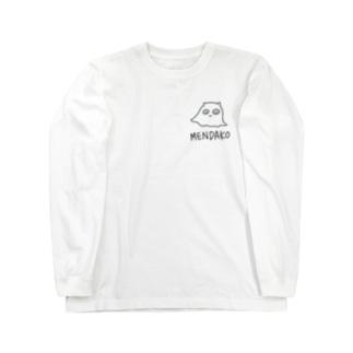 \ちみっと/メンダコ Long sleeve T-shirts