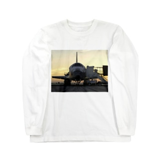 Discovery_mission_completed_スペースシャトル Long sleeve T-shirts