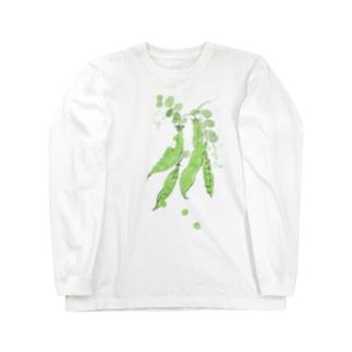 豆 Long sleeve T-shirts