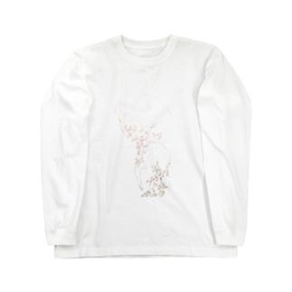 花の少女 Long sleeve T-shirts