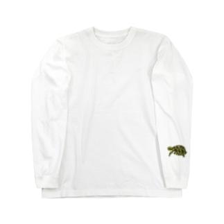リクガメハイハイ Long sleeve T-shirts