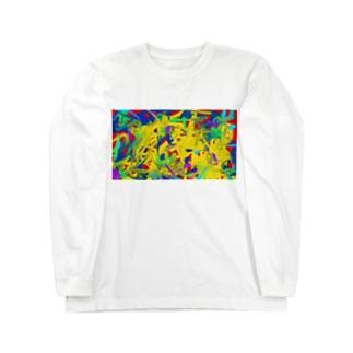 とある革命家の一日 Long sleeve T-shirts