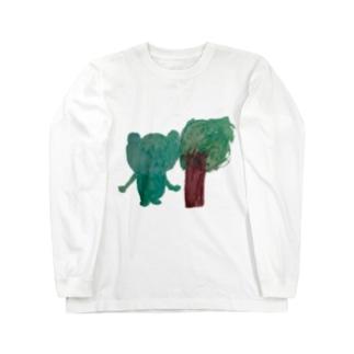 緑のともだち Long sleeve T-shirts