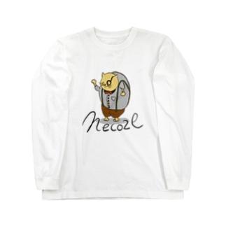 猫背 Long sleeve T-shirts