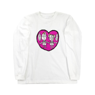 マウス便器ちゃん Long sleeve T-shirts