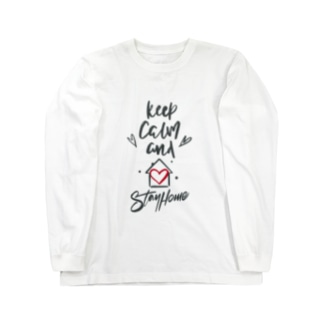 Keep Calm and Stay Home Long sleeve T-shirts