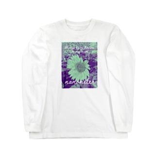 nanometer『いつも心に花を』ロングTシャツ Long sleeve T-shirts