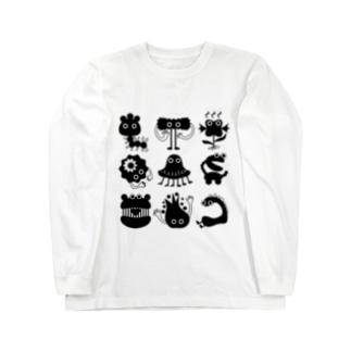 変な生き物 Long sleeve T-shirts
