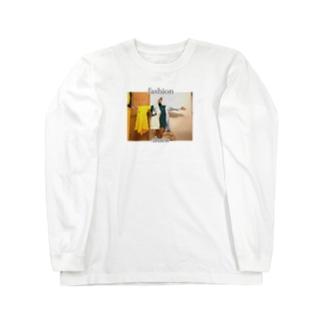 ファッションショー Long sleeve T-shirts