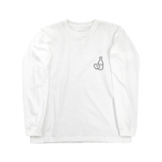 日本酒くん Long sleeve T-shirts
