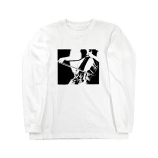 チェロ Long sleeve T-shirts