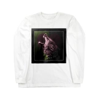 ラブオオカミ Long sleeve T-shirts