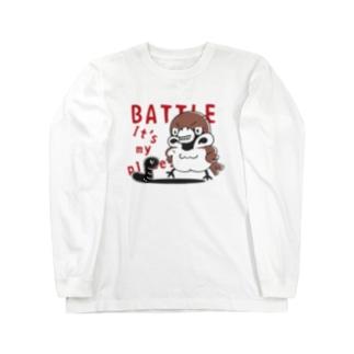 CT166 スズメがちゅん*BATTLEちゅん Long Sleeve T-Shirt