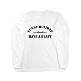 dacci ホリデイ(黒) Long sleeve T-shirts